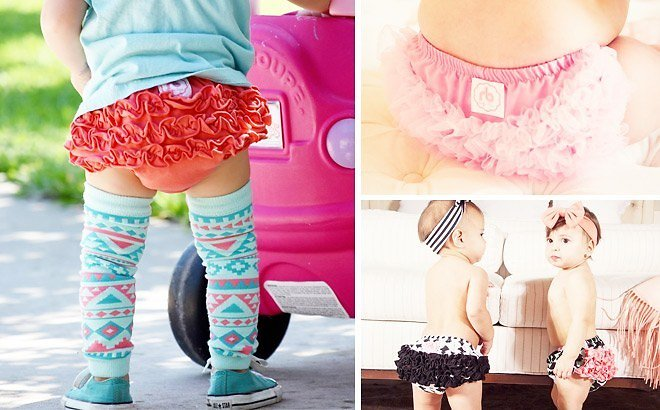 *HOT* 3 FREE Ruffled Diaper Covers (Just Pay Shipping) – Cute Baby Shower Gift!