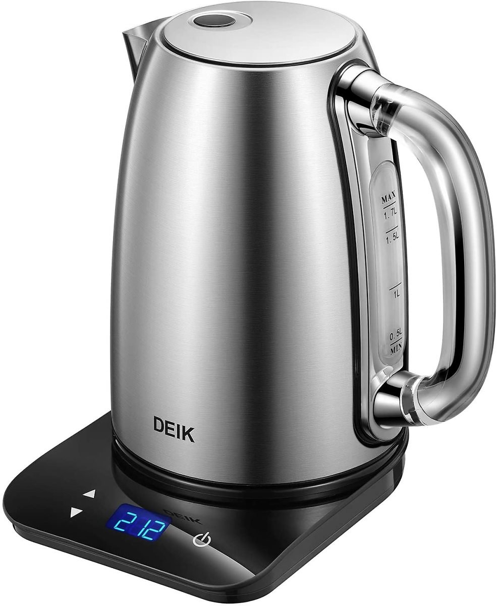 DEIK 1.7L Temperature Control Kettle with Digital LCD