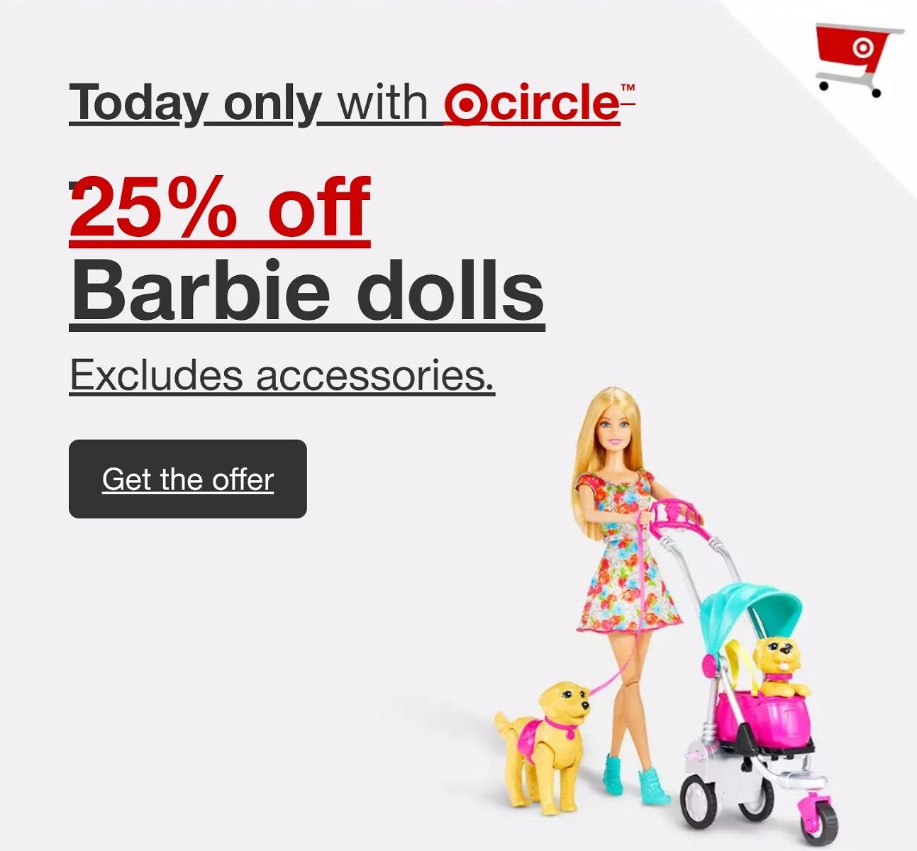 Today Only! Up To 30% Off + Extra 25% Off Barbie W/ Target Circle : Target