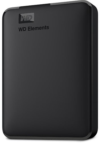 Today only! WD 5TB Elements Portable USB 3.0 External Hard Drive