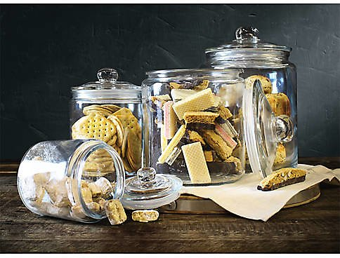 Mason Craft & More Set of 4 Heritage Canisters