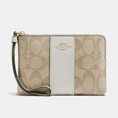 Corner Zip Wristlet (6 Colors)