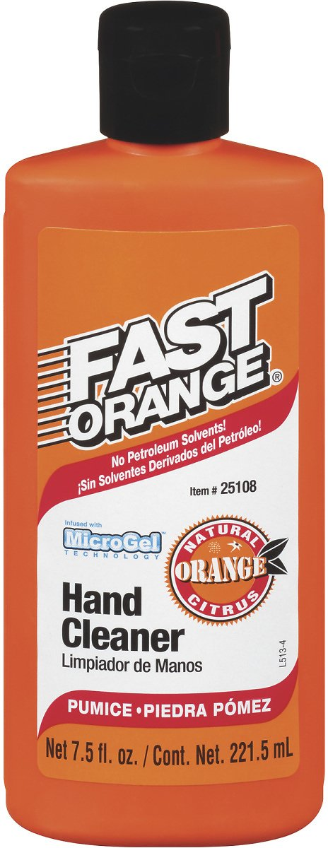 Fast Orange MicroGel Hand Cleaner —7.5-Oz. Bottle or Smooth Lotion Hand Cleaner 14-Oz. At Northern Tool