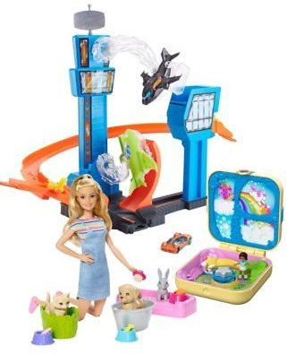 Mattel Toy Collection Featuring Barbie, Hot Wheels, Polly Pocket & More! Select Items On Sale