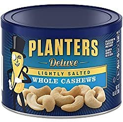 Planters Salted Cashew Halves & Pieces (14 Oz Canister)