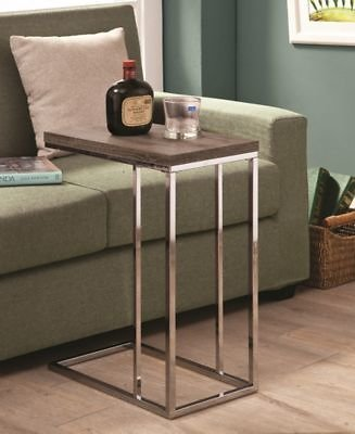 Coaster Home Furnishings Delta Snack Table Weathered & Reviews - Furniture