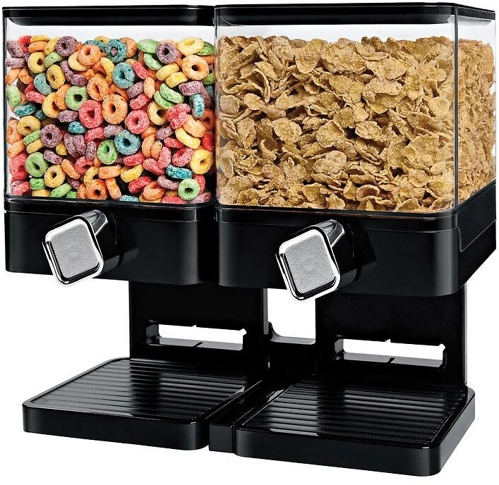 Double Compact Edition Cereal Dispenser