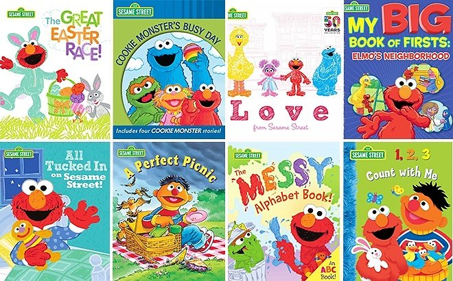 FREE Sesame Street Children's EBooks On Amazon – 30 EBooks to Choose From!
