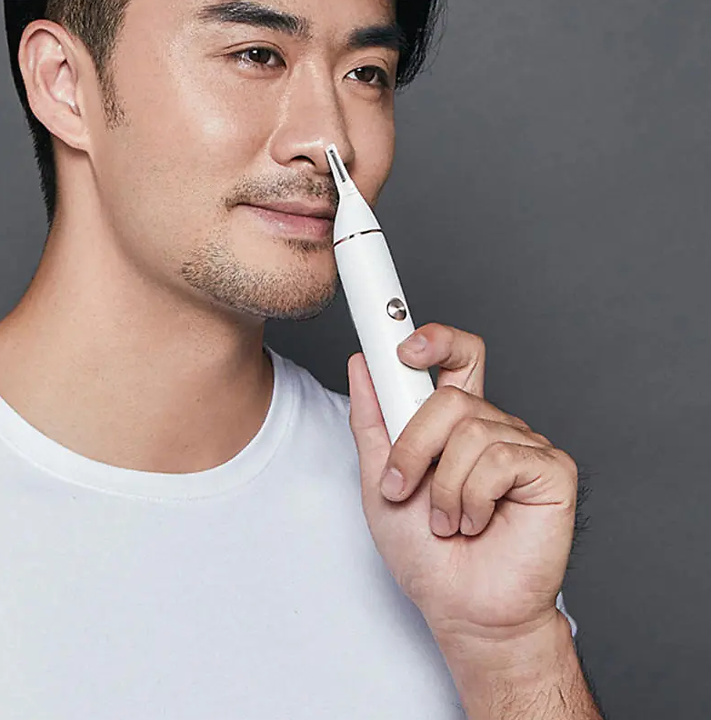 60% Off SOOCAS Nose Hair Trimmer Eyebrow Clipper Sharp Blade Cordless Nasal Cleaner from Xiaomi Ecosystem