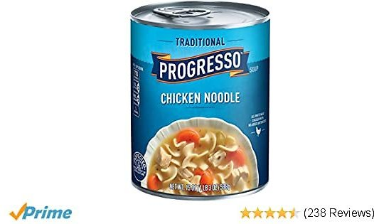 Best Packaged Chicken Soups Progresso Soup, Traditional, Chicken Noodle Soup