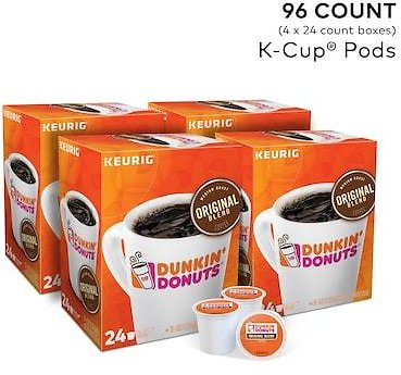 Dunkin Donut K Cups 96 Count