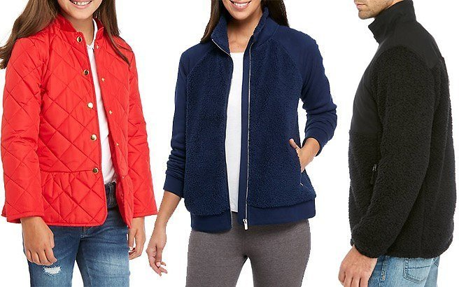 Up to 85% Off Jackets & Sweatshirts for The Whole Family At Belk (From ONLY $9!)