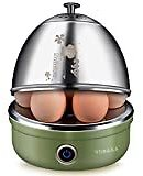 Dash DEC005BK Black Rapid 6 Capacity Electric Cooker for Hard Boiled, Poached, Scrambled Eggs, or Omelets with Auto Shut Off Feature, One Size: Electric Egg Cookers: Kitchen & Dining
