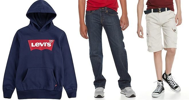 Levi's Jeans and Tops for The Family Over 40% Off, Starting At JUST $7.20 At Kohl's