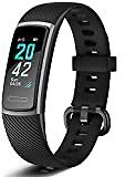 Lintelek Fitness Tracker with Heart Rate Monitor, Activity Tracker with Connected GPS, IP67 Waterproof Smart Band with Calorie Counter, Pedometer for Men, Women and Gift : Sports & Outdoors