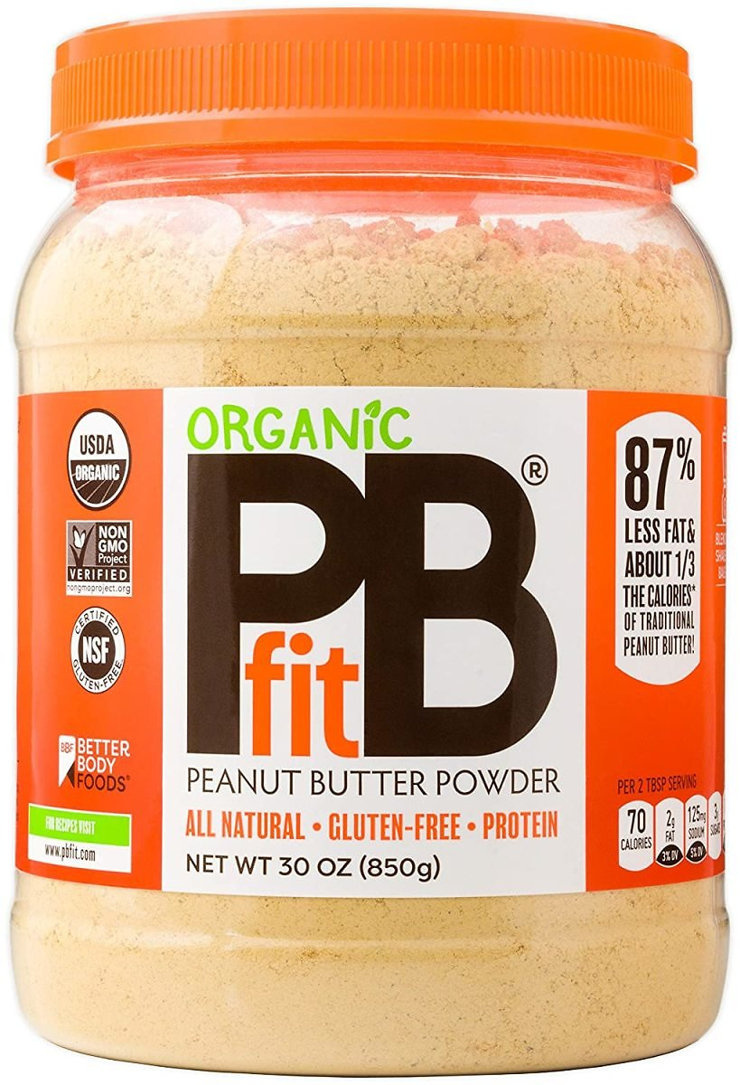 PBfit All-Natural Organic Peanut Butter Powder, Powdered Peanut Spread from Real Roasted Pressed Peanuts, 8g of Protein (30 Oz.): Grocery & Gourmet Food