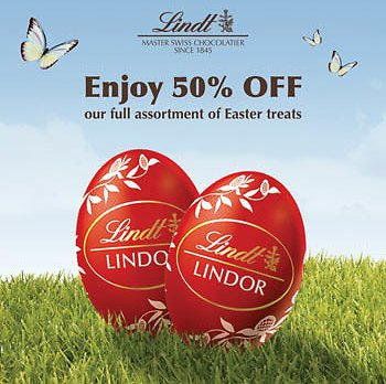 50% Off Easter Chocolates Items  from $1.99