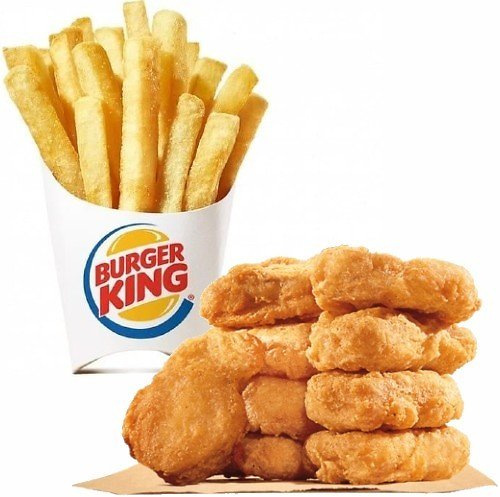 10-Pc Chicken Nuggets + Large Fries