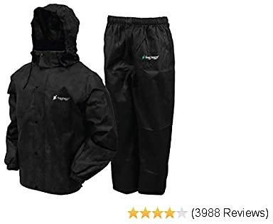 Frogg Toggs Men's Classic All-Sport Waterproof Breathable Rain Suit : Clothing