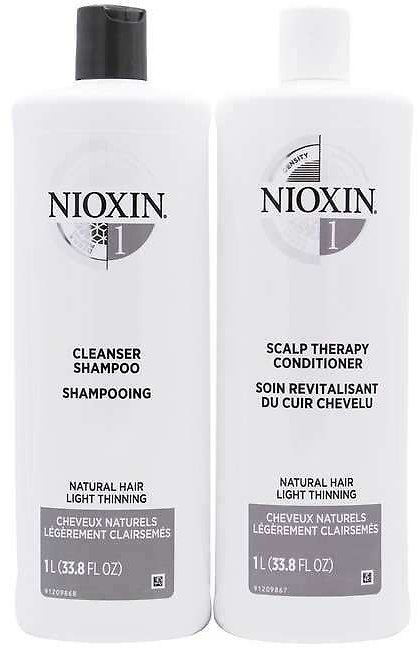 Nioxin System Shampoo & Conditioner Twin Pack
