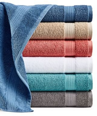 Home Design Bath Towel Collection, Created for Macy's & Reviews - Bath Towels - Bed & Bath