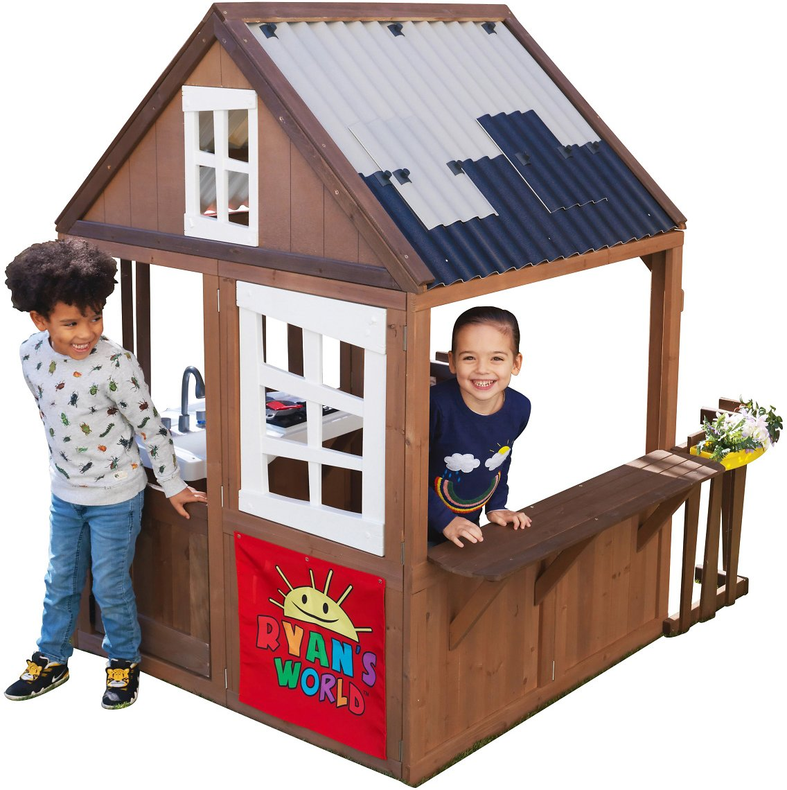 KidKraft Ryans World Outdoor Playhouse + Ships Free