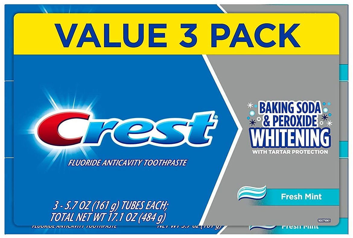 Lowest Price! 3-Pk Crest Cavity Protection Toothpaste