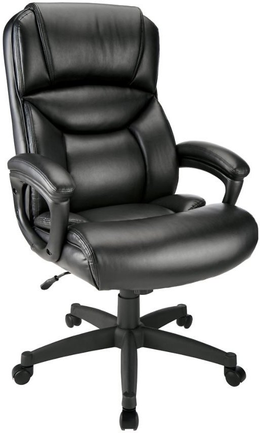 Realspace Bonded Leather Executive Chair