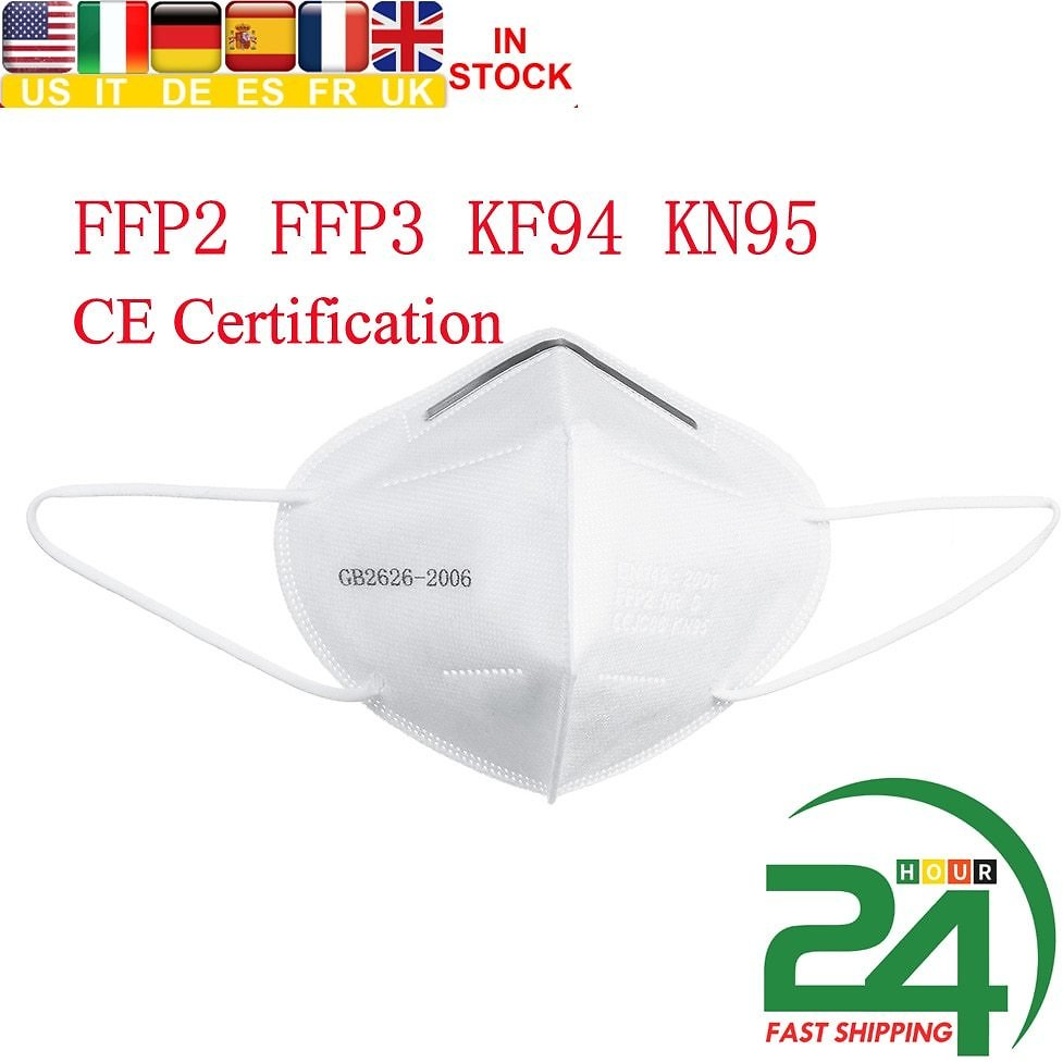 50PCS Disposable Mouth Mask and KF94 & FFP2 KN95 $17.37 (30% Off)