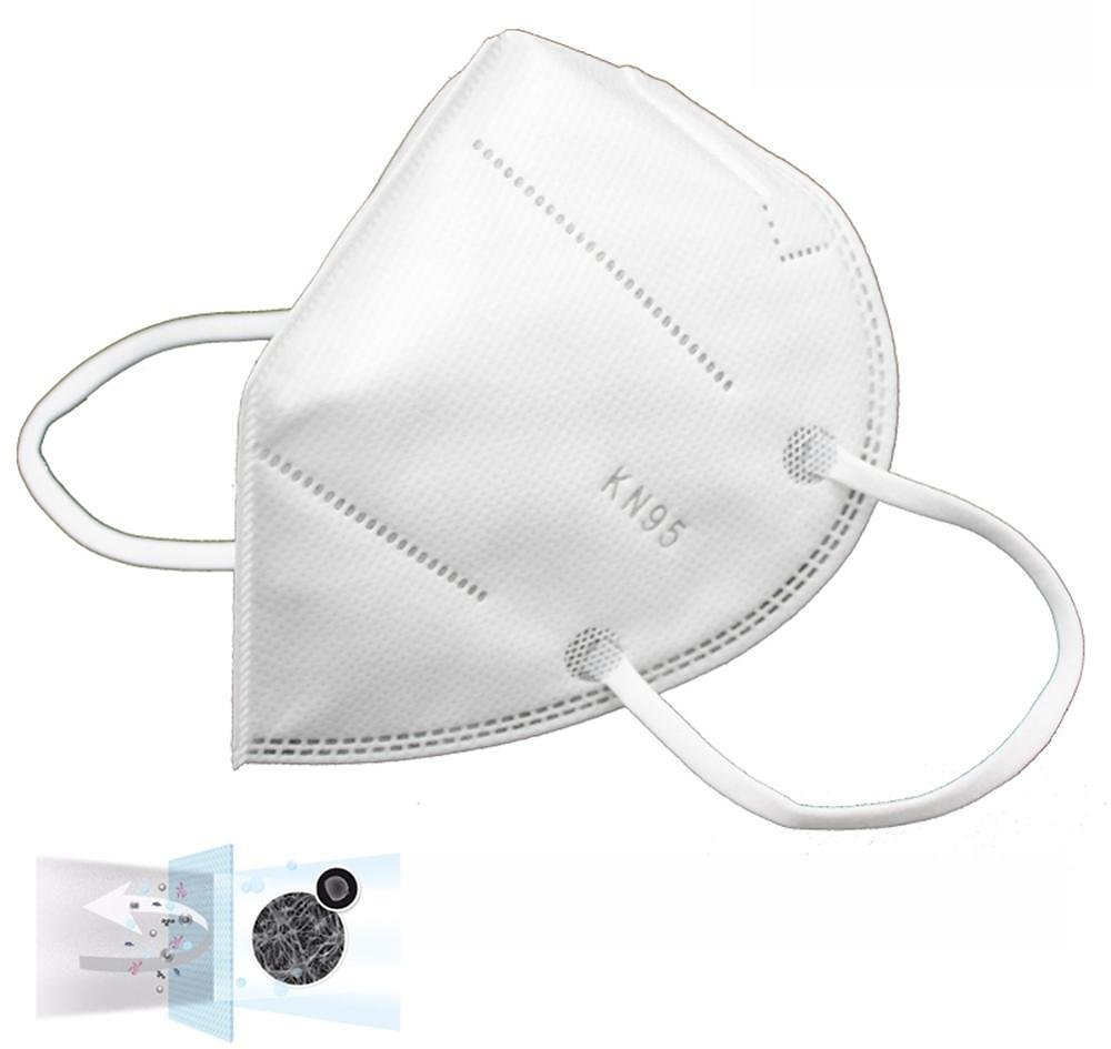 Kn95 Mask Face Mask Disposable 48-hour Delivery KN95 95% Filtration Cotton Mouth Masks Anti-Dust 3 Filter Against Droplet