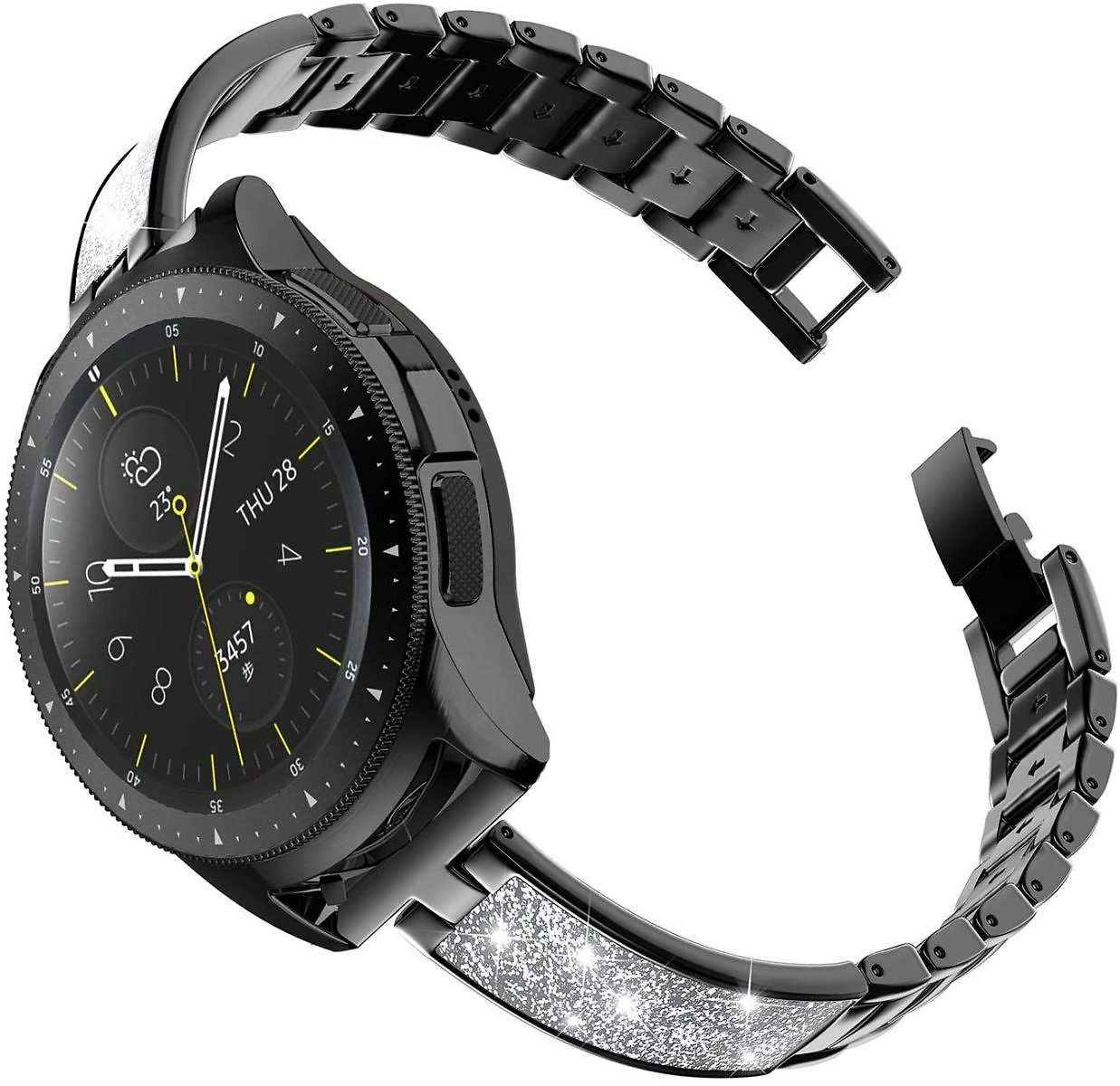 TOYOUTHS Stylish Strap Compatible with Samsung Galaxy Watch 42mm
