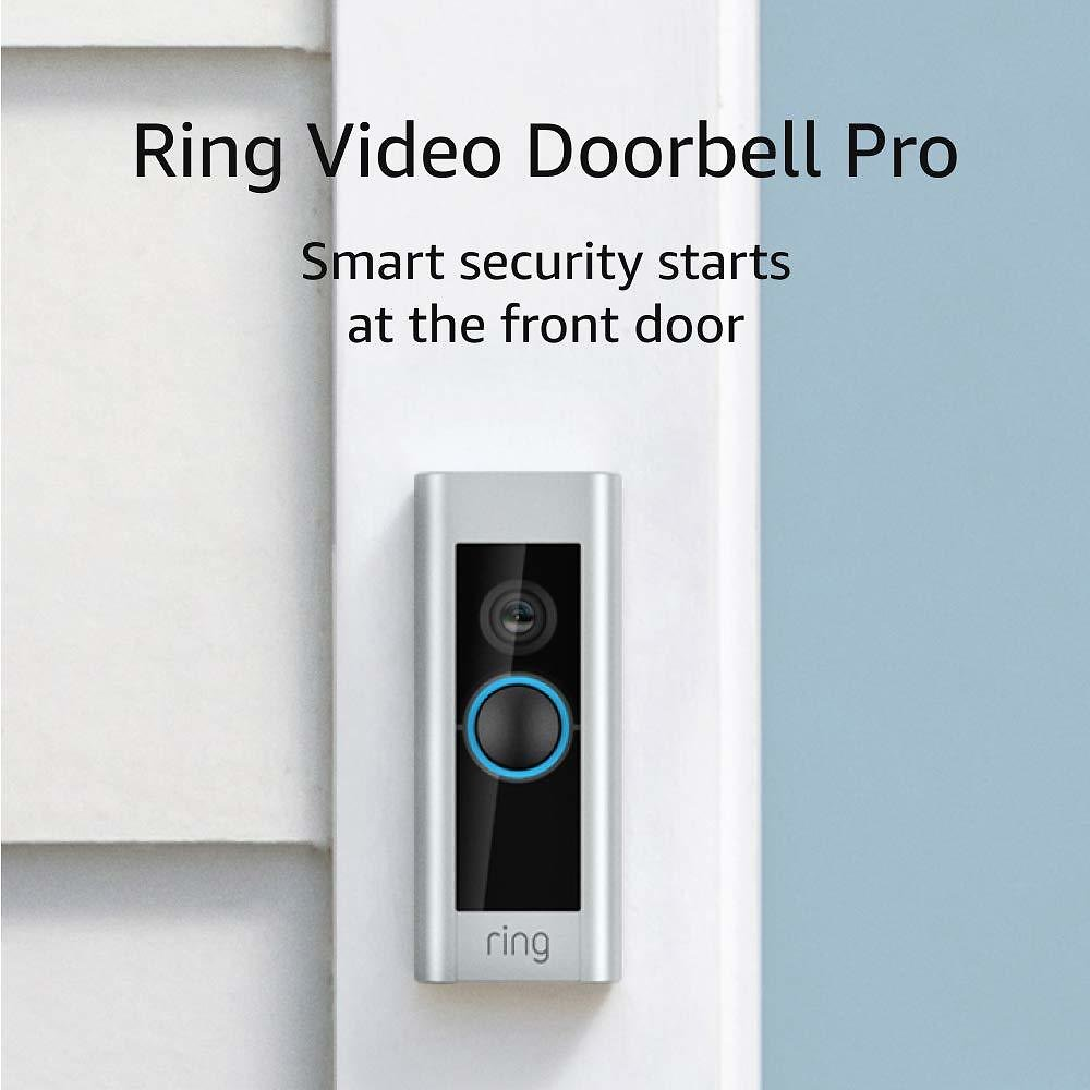 Ring Video Doorbell Pro (with Motion Activated Alerts and HD Video)