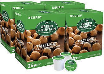 Green Mountain Coffee Hazelnut Flavored K-Cup Pod, 96-count