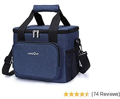 Lifewit Large Lunch Bag Insulated Lunch Box Soft Cooler Cooling Tote for Adult Men Women