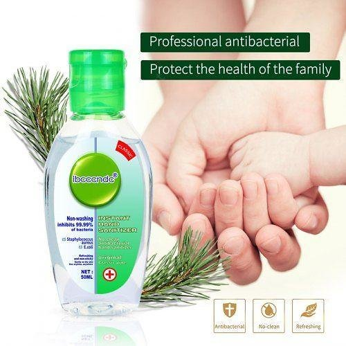 50ml Disposable Disinfection Gel Portable Cute Wipe Out Bacteria Hand Sanitizer Gel