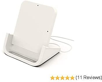 Fast Lightweight Desktop Wireless Charger for phone with case