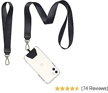 50% OFF Phone Lanyard, COCASES Wrist Lanyard and Neck Lanyard for Keys ID Badge Set Phone Tether for IPhone,