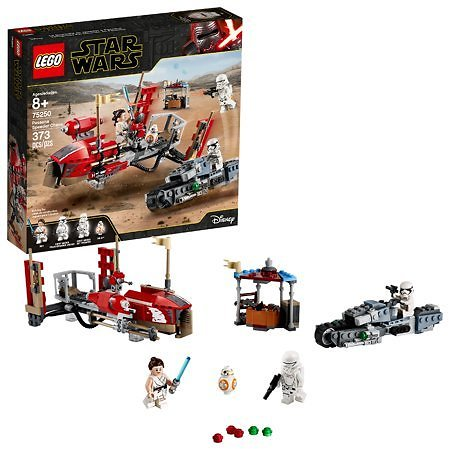 LEGO Star Wars The Rise of Skywalker Pasaana Speeder Chase