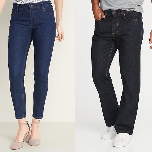 Today Only! $12 Adult Jeans + More