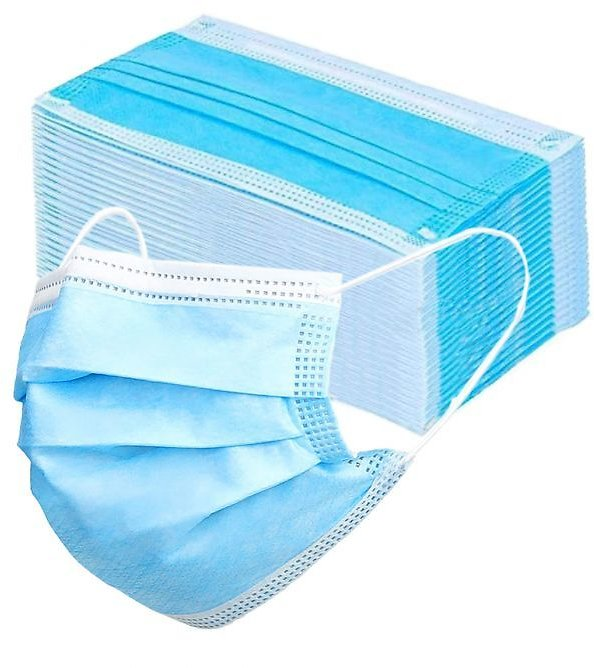 30Ct- Disposable Protective Masks – 3 Layers Safety & Comfort