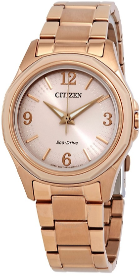 Citizen AR Eco-Drive Pink Dial Ladies Watch + F/S