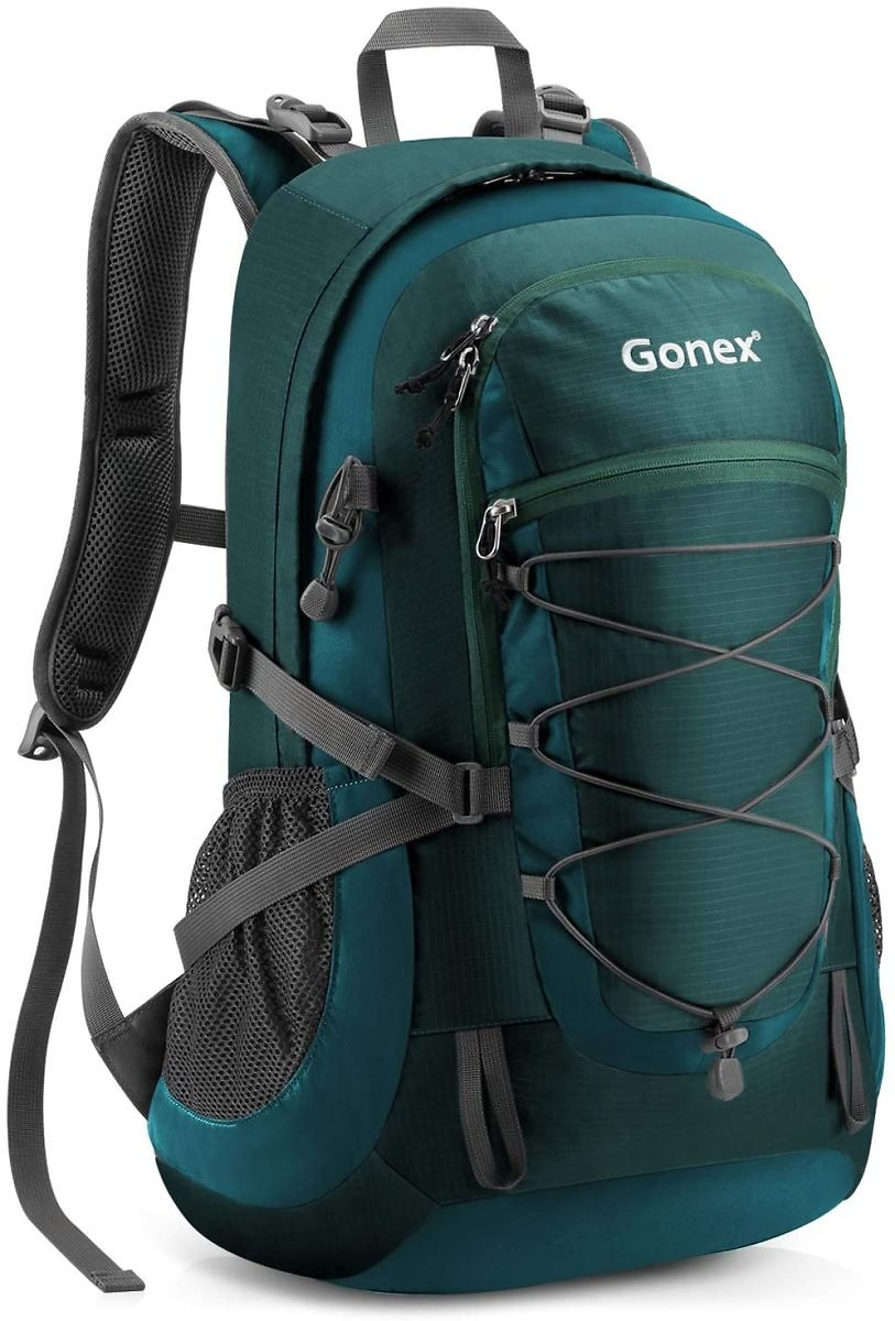 70% Off Gonex 35L Water Repellent Hiking Backpack with Backpack Cover Included