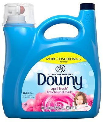 Downy Ultra Liquid Fabric Conditioner, April Fresh (138 Fl. Oz., 204 Loads)