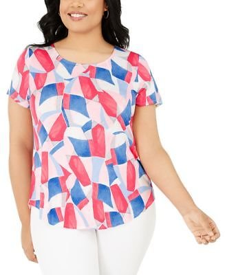 Alfani Plus Size Printed T-Shirt, Created for Macy's & Reviews - Tops - Plus Sizes