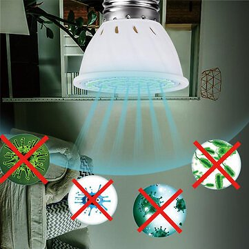 5W UVC Germicidal Lamp Disinfection UV Ultraviolet Ozone Disinfection