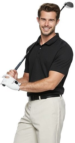 Mens Classic-Fit Golf Polo (Mult. Colors)