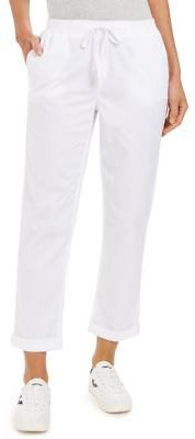 Style & Co Pull On Cuffed Utility Pants, Created for Macy's & Reviews - Pants & Leggings - Women