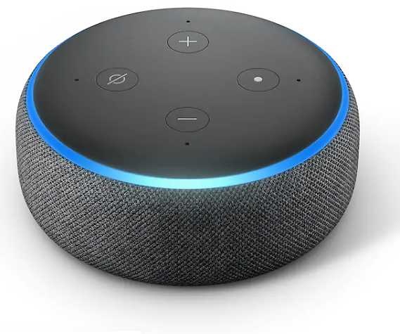 2 Amazon Echo Dot 3rd Gen Smart Speaker w/Alexa