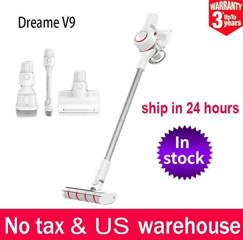 Dreame V9 Handheld Vacuum Cleaner Household Wireless Cordless Cyclone 20Kpa Suction Dust Collector For Home Car