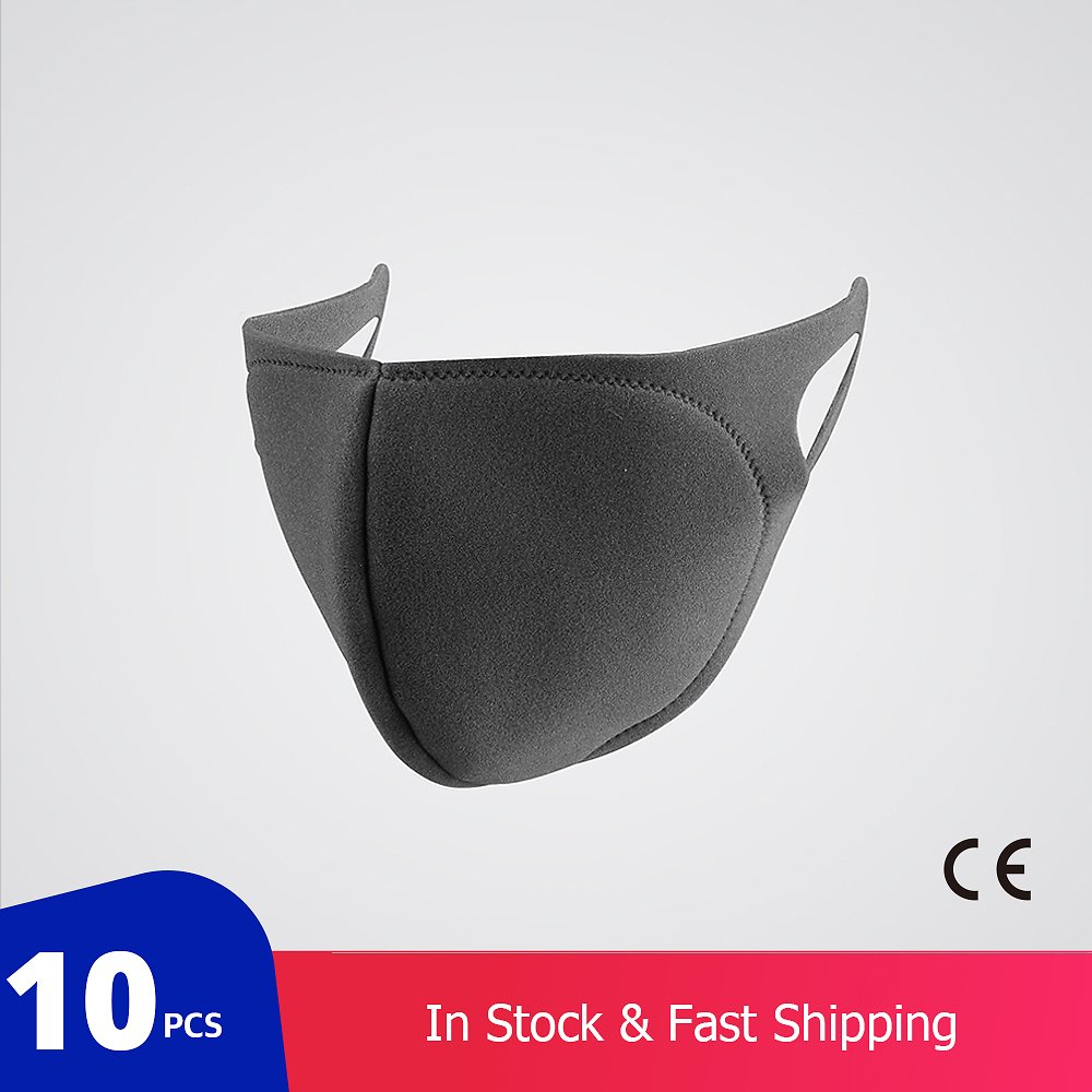 10 Pcs/bag KN95 CE Certification Dust Respirator Mask Pad Against Pollution Breathable Mask